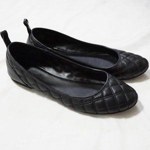 Target Quilted Black Flats